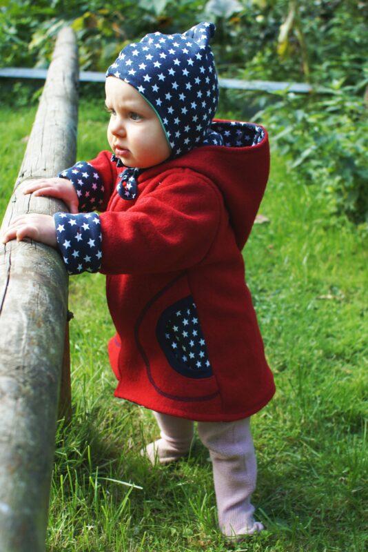 Mantel Baby Kinder Ebook Wollwalk