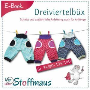 E-Book Schnittmuster Dreiviertelhose Dreiviertelbüx