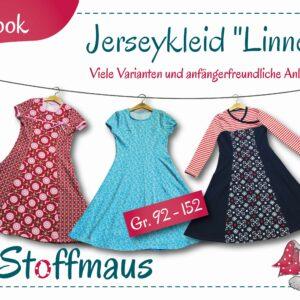 Schnittmuster E-Book Jerseykleid Linnea