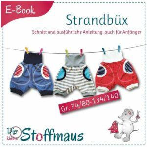 E-Book Schnittmuster Strandbüx kurze Hose