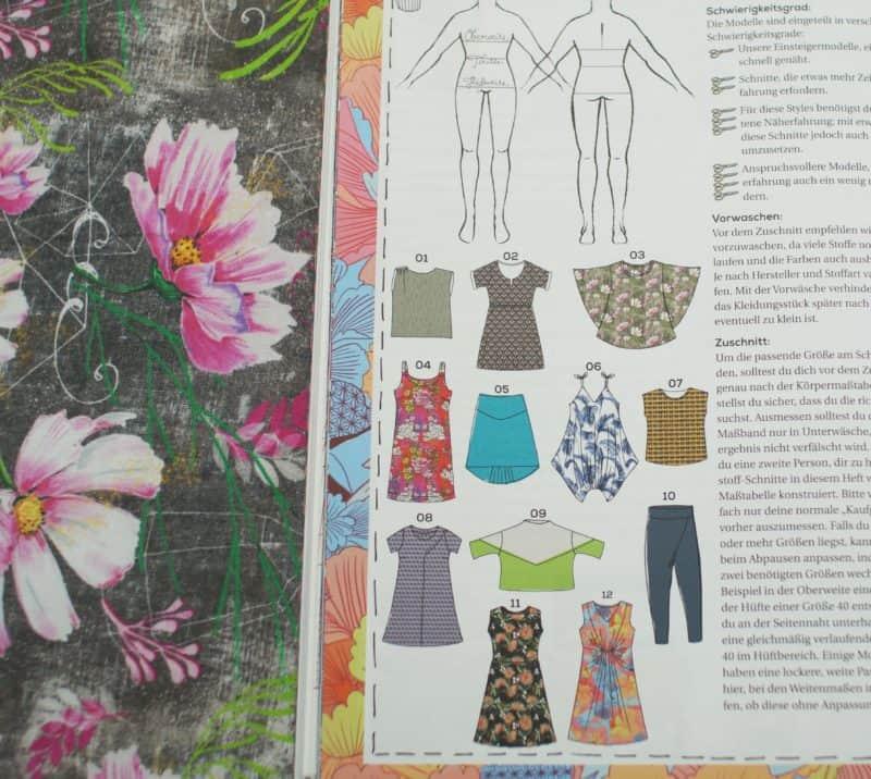 Modal Magazin Lillestoff günstig online kaufen Stoffmaus Hessen Kassel
