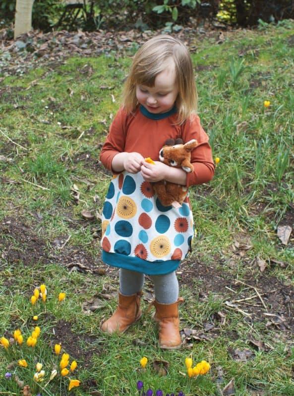 Jersey Skagen Lillestoff günstig online kaufen Die kleine Stoffmaus skandinavisches Design Damenjersey Bio