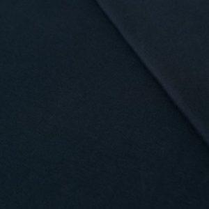 Bio Bündchen dunkelblau glatt lillestoff