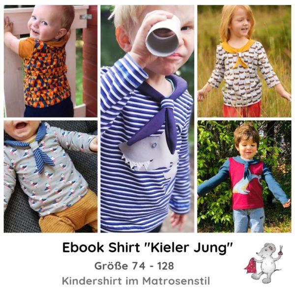 E-Book Schnittmuster Kieler Jung Matrosenshirt