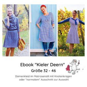 E-Book Schnittmuster Matrosenkleid Kieler Deern