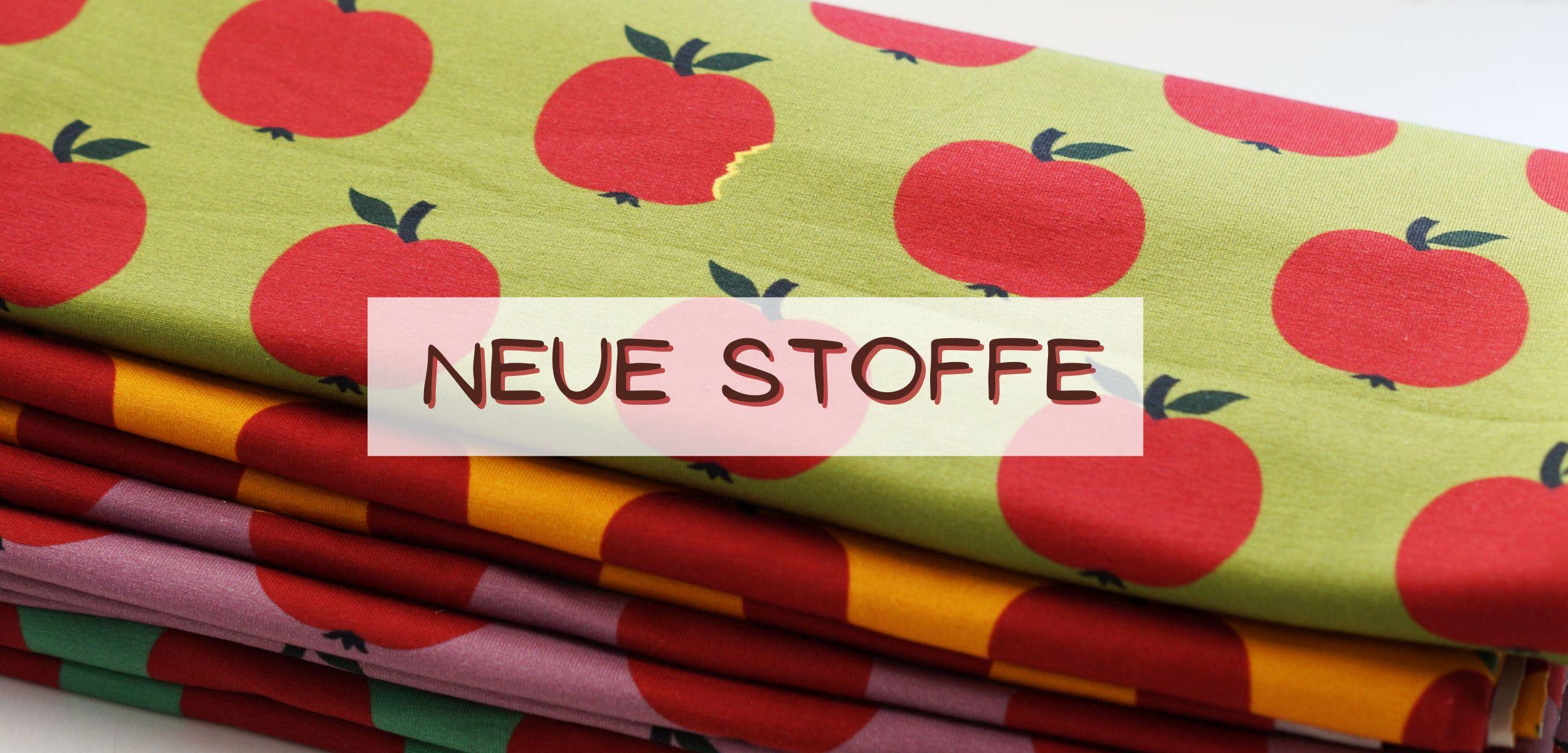 Banner neue Stoffe