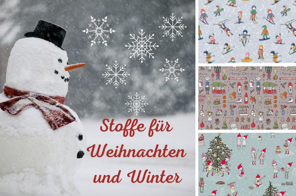 Banner Weihnachten und Winter